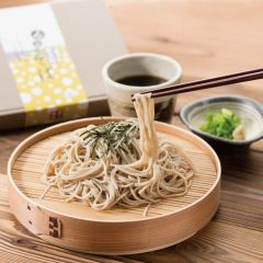 [2. Foods; Japanese noodle] Furano Botan Soba 8 meals-set with dipping sauce