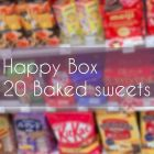 Happy Baked sweets Box / Set of 20