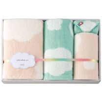 "Imabari Towel ""Fluffy Cheeks"" Towel Set - 05"