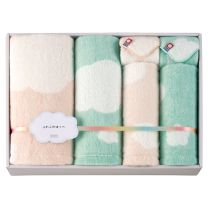 "Imabari Towel ""Fluffy Cheeks"" Towel Set - 06"