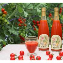 Minamirokugo's Red Fruits / Miami / Tomato Juice Red (720 ml x 12 Red)