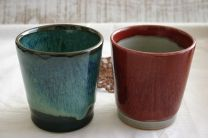 Kobushi Kiln Free Cup (2 Colors Set)
