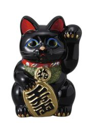 Black Manekineko No. 10 Left