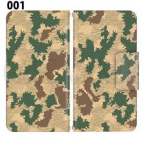 Apple Smartphone Case Premium Notebook Type S Size / M Size / L Size 3 Type General Purpose Sliding Cover 30 Design Made in Japan / Camouflage Camouflage Military '001