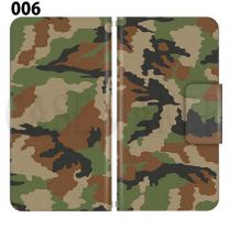 Apple Smartphone Case Premium Notebook Type S Size / M Size / L Size 3 Type General Purpose Sliding Cover 30 Design Made in Japan / Camouflage Camouflage Military '006