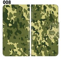 Apple Smartphone Case Premium Notebook Type S Size / M Size / L Size 3 Type General Purpose Sliding Cover 30 Design Made in Japan / Camouflage Camouflage Military '008