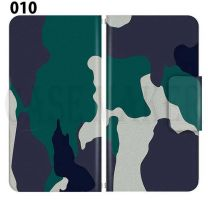 Apple Smartphone Case Premium Notebook Type S Size / M Size / L Size 3 Type General Purpose Sliding Cover 30 Design Made in Japan / Camouflage Camouflage Military '010