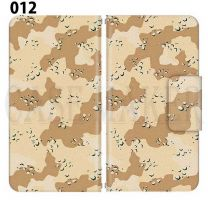 Apple Smartphone Case Premium Notebook Type S Size / M Size / L Size 3 Type General Purpose Sliding Cover 30 Design Made in Japan / Camouflage Camouflage Military '012
