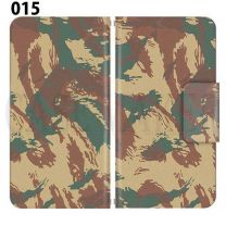 Apple Smartphone Case Premium Notebook Type S Size / M Size / L Size 3 Type General Purpose Sliding Cover 30 Design Made in Japan / Camouflage Camouflage Military '015