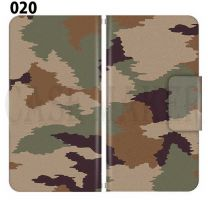 Apple Smartphone Case Premium Notebook Type S Size / M Size / L Size 3 Type General Purpose Sliding Cover 30 Design Made in Japan / Camouflage Camouflage Military '020