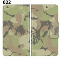 Apple Smartphone Case Premium Notebook Type S Size / M Size / L Size 3 Type General Purpose Sliding Cover 30 Design Made in Japan / Camouflage Camouflage Military '022