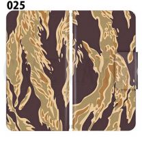 Apple Smartphone Case Premium Notebook Type S Size / M Size / L Size 3 Type General Purpose Sliding Cover 30 Design Made in Japan / Camouflage Camouflage Military '025