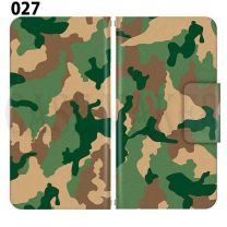 Apple Smartphone Case Premium Notebook Type S Size / M Size / L Size 3 Type General Purpose Sliding Cover 30 Design Made in Japan / Camouflage Camouflage Military '027