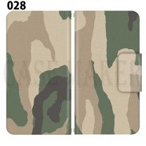 Apple Smartphone Case Premium Notebook Type S Size / M Size / L Size 3 Type General Purpose Sliding Cover 30 Design Made in Japan / Camouflage Camouflage Military '028