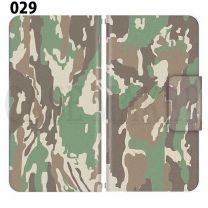 Apple Smartphone Case Premium Notebook Type S Size / M Size / L Size 3 Type General Purpose Sliding Cover 30 Design Made in Japan / Camouflage Camouflage Military '029