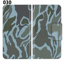 Apple Smartphone Case Premium Notebook Type S Size / M Size / L Size 3 Type General Purpose Sliding Cover 30 Design Made in Japan / Camouflage Camouflage Military '030