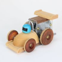 Vehicle Music Box (Race Car, Green)