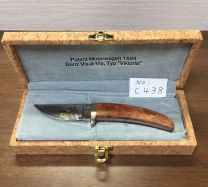 """Amano Knife"" Amano Skinner Knife MB (Serial Number : C 38) ""Mercedes-Benz one hundredth Anniversary Model"""