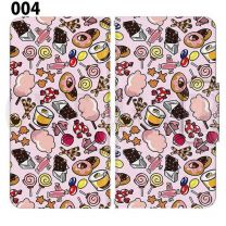 Apple Smartphone Case Premium Notebook Type S Size / M Size / L Size 3 Type General Purpose Sliding Cover 30 Design Made in Japan / Dessert' 004