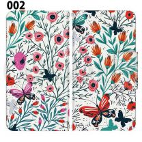 Apple Smartphone Case Premium Notebook Type S Size / M Size / L Size 3 Type General Purpose Sliding Cover 30 Design Made in Japan /  Fabric pattern ' 002
