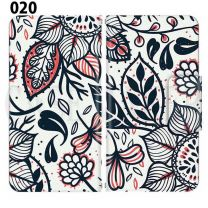 Apple Smartphone Case Premium Notebook Type S Size / M Size / L Size 3 Type General Purpose Sliding Cover 30 Design Made in Japan /  Fabric pattern ' 020