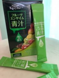 Fruit Enzyme Aojiru (fresh squeezed juice) which can be drunk as it is without water