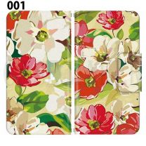 Apple Smartphone Case Premium Notebook Type S Size / M Size / L Size 3 Type General Purpose Sliding Cover 30 Design Made in Japan /  Flower  Beautiful ' 001