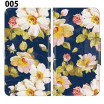 Apple Smartphone Case Premium Notebook Type S Size / M Size / L Size 3 Type General Purpose Sliding Cover 30 Design Made in Japan /  Flower  Beautiful ' 005