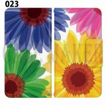 Apple Smartphone Case Premium Notebook Type S Size / M Size / L Size 3 Type General Purpose Sliding Cover 30 Design Made in Japan /  Flower  Beautiful ' 023