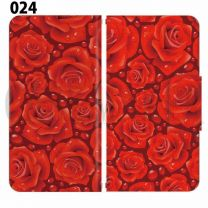 Apple Smartphone Case Premium Notebook Type S Size / M Size / L Size 3 Type General Purpose Sliding Cover 30 Design Made in Japan /  Flower  Beautiful ' 024