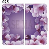 Apple Smartphone Case Premium Notebook Type S Size / M Size / L Size 3 Type General Purpose Sliding Cover 30 Design Made in Japan /  Flower  Beautiful ' 025