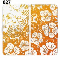 Apple Smartphone Case Premium Notebook Type S Size / M Size / L Size 3 Type General Purpose Sliding Cover 30 Design Made in Japan /  Flower  Beautiful ' 027