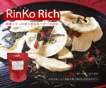 """RinKo Rich"" Dried apple, Kelp and Goji berry 43g x 2pcs"
