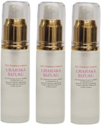 HumanStemCells + HorsePlacenta Serum URARAKASHIZUKU 30ml GoodBuy three-piece set