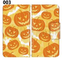 Apple Smartphone Case Premium Notebook Type S Size / M Size / L Size 3 Type General Purpose Sliding Cover 30 Design Made in Japan / Halloween Pumpkin ' 003