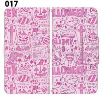 Apple Smartphone Case Premium Notebook Type S Size / M Size / L Size 3 Type General Purpose Sliding Cover 30 Design Made in Japan / Halloween Pumpkin ' 017