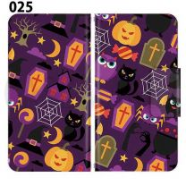 Apple Smartphone Case Premium Notebook Type S Size / M Size / L Size 3 Type General Purpose Sliding Cover 30 Design Made in Japan / Halloween Pumpkin ' 025