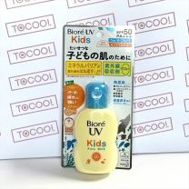 Biore UVkids pure milk for face・body SPF50PA+++ / Additive-free / Moisturizing ingredients