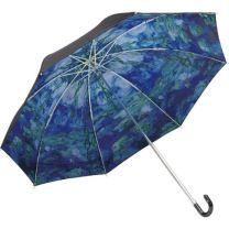 """Masterpiece Folding Umbrella ~ For both sunny and rainy days ~ (Monet """"Water Lilies"""")"""