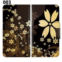 Apple  Smartphone Case Premium Notebook Type S Size / M Size / L Size 3 Type General Purpose Sliding Cover 30 Design Made in Japan Japanese-style Japanese ' 003