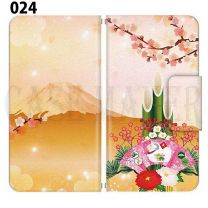 Apple  Smartphone Case Premium Notebook Type S Size / M Size / L Size 3 Type General Purpose Sliding Cover 30 Design Made in Japan Japanese-style Japanese ' 024
