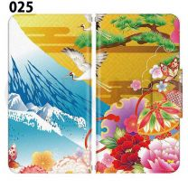 Apple  Smartphone Case Premium Notebook Type S Size / M Size / L Size 3 Type General Purpose Sliding Cover 30 Design Made in Japan Japanese-style Japanese ' 025