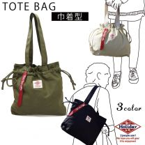 Bag Tote Bag Men and Ladies Drawstring Pouch Tote Canvas HolidayA. M.