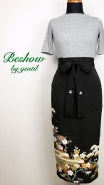 Cafe Apron [Can also be used as a wrap skirt ♪] EP42012A