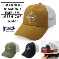 Hat Cap Men's and Women's Mesh Cap Embroidered Logo American Casual PENNANTBANNERS