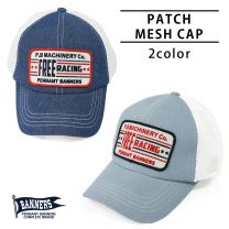 Hat Mesh Cap Men's and Women's Chambray Baseball Cap PENNANTBANNERS