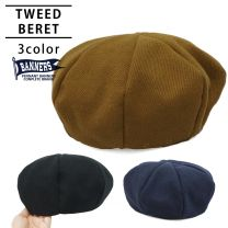 Hat Beret Hat Men's Ladies Beret Large Size Fall / Winter / Spring Poly Tweed PENNANTBANNERS