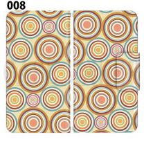 Apple Smartphone Case Premium Notebook Type S Size / M Size / L Size 3 Type General Purpose Sliding Cover 30 Design Made in Japan / Pastel ' 008