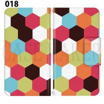 Apple Smartphone Case Premium Notebook Type S Size / M Size / L Size 3 Type General Purpose Sliding Cover 30 Design Made in Japan / Pastel ' 018