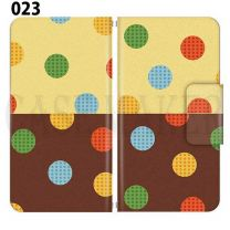 Apple Smartphone Case Premium Notebook Type S Size / M Size / L Size 3 Type General Purpose Sliding Cover 30 Design Made in Japan / Pastel ' 023